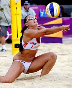 Nude beach volleyball girls anal