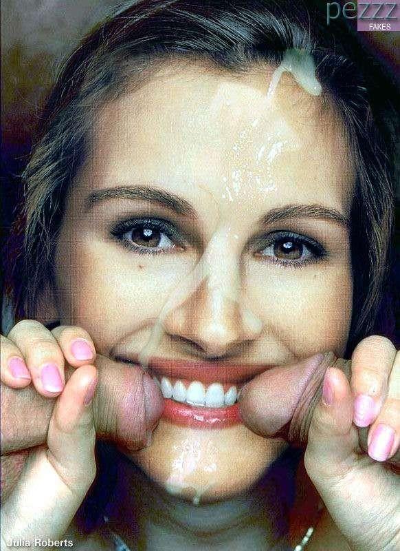 Fake julia dreyfus sperm facial pics