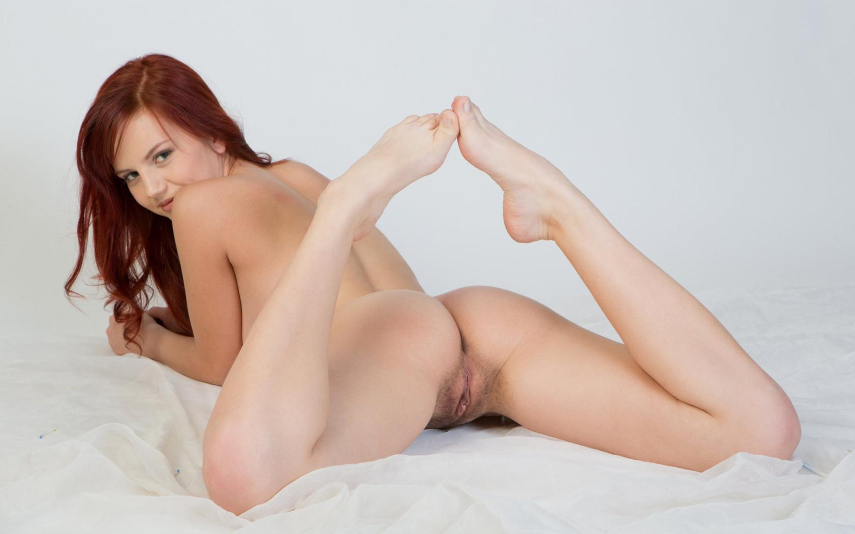 Red head nude naked