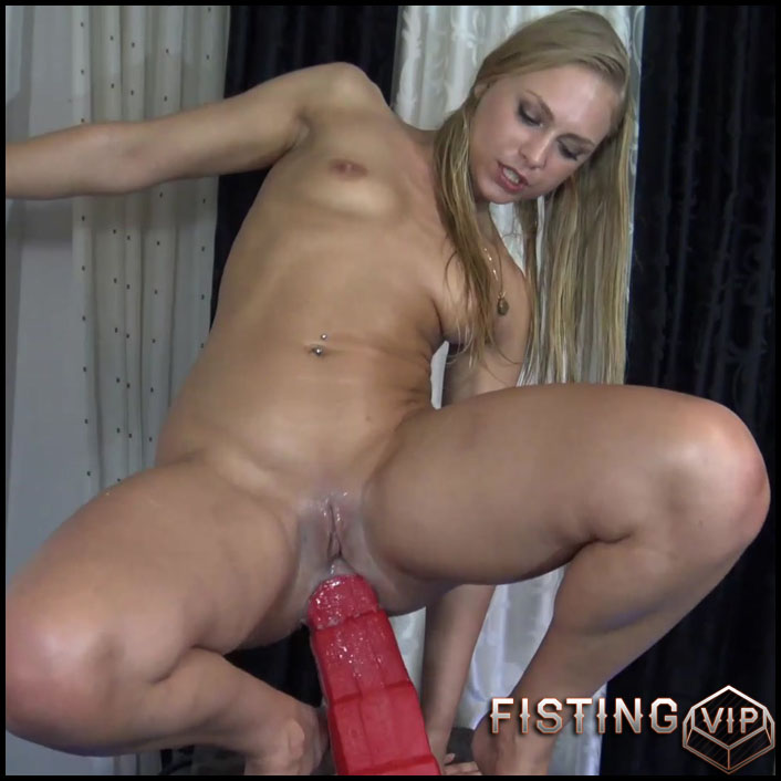 Anal dildo lesbian wet