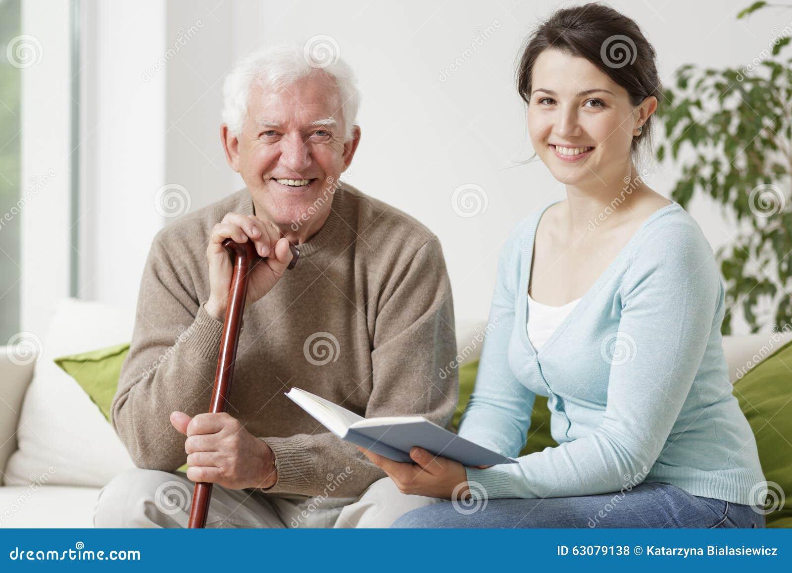 Old men young women