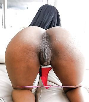 Big ass latest pussy black