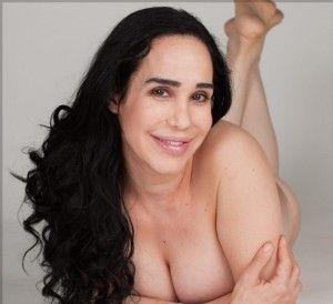 Big tits garter belt