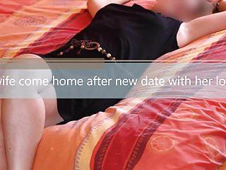 Wife brings home cum filled panties