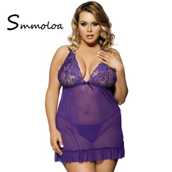 Mature plus size lingerie