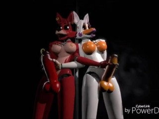 Foxy and porn chica fnaf