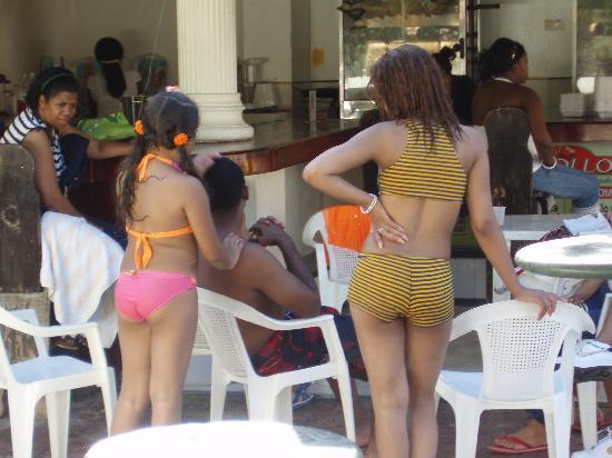 Boca chica dominican republic girls