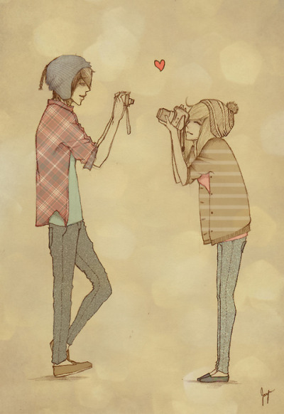 Cute couple drawings tumblr