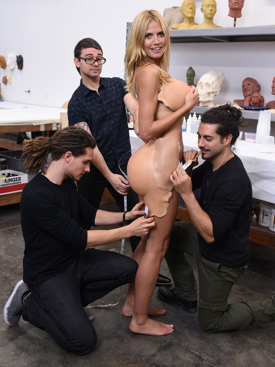 Heidi klum nude sex