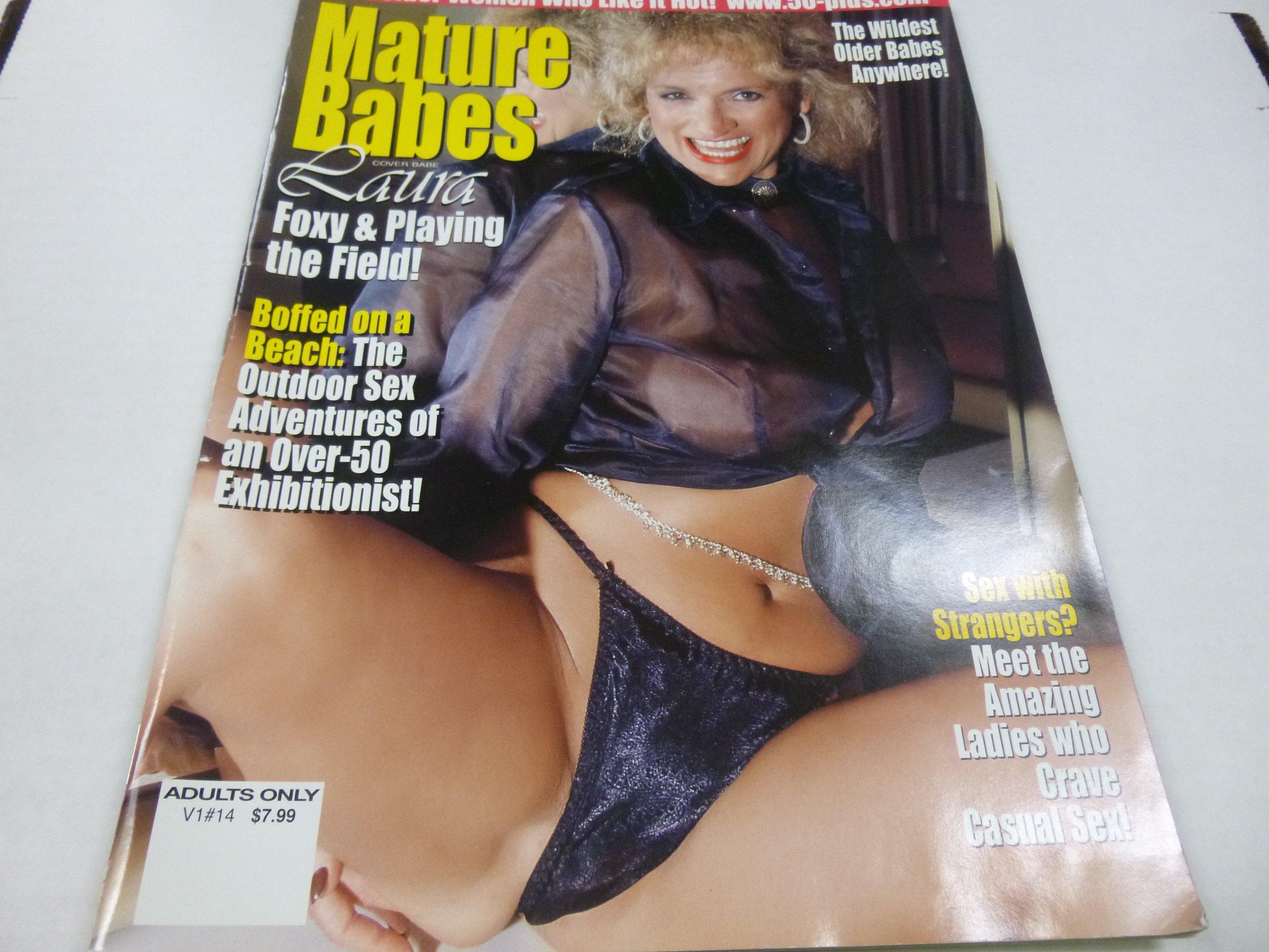 Busty mature women outdoors