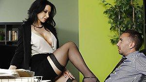 Hair hot asian wife long