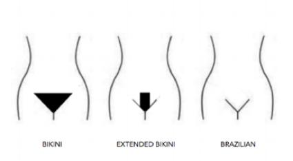 Pics bikini wax brazilian