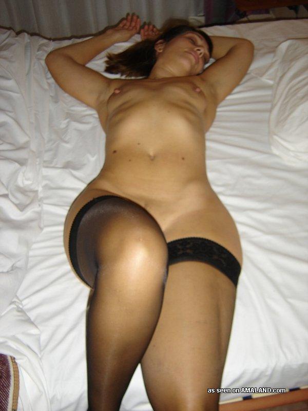 Amateur wife slutty black dress