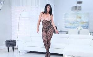 Black naked women upskirt pants