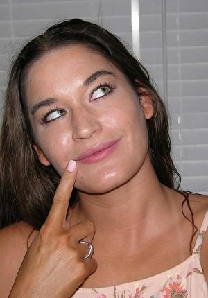 Milf tan lines amateur mature nude selfies