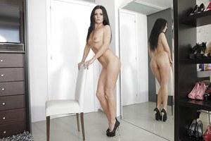 Naked big ass white pant