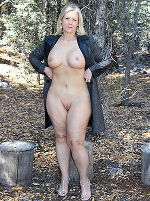 Wife outdoors amateur mature homemade