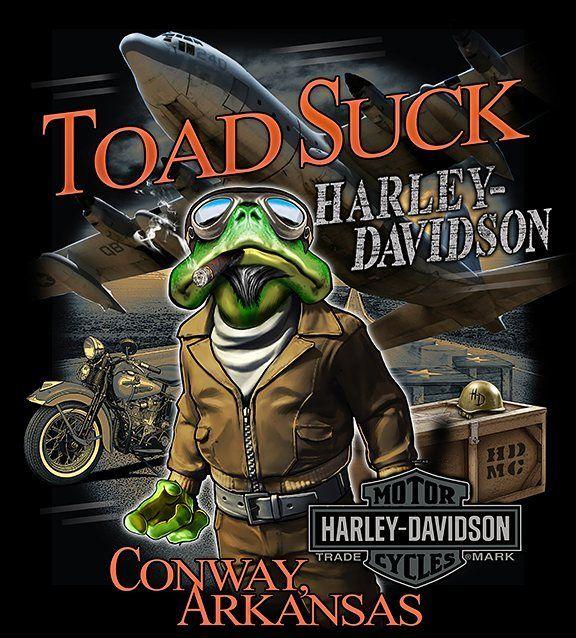 Toad suck harley davidson ark