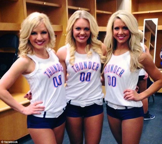 Oklahoma city thunder cheerleaders hot