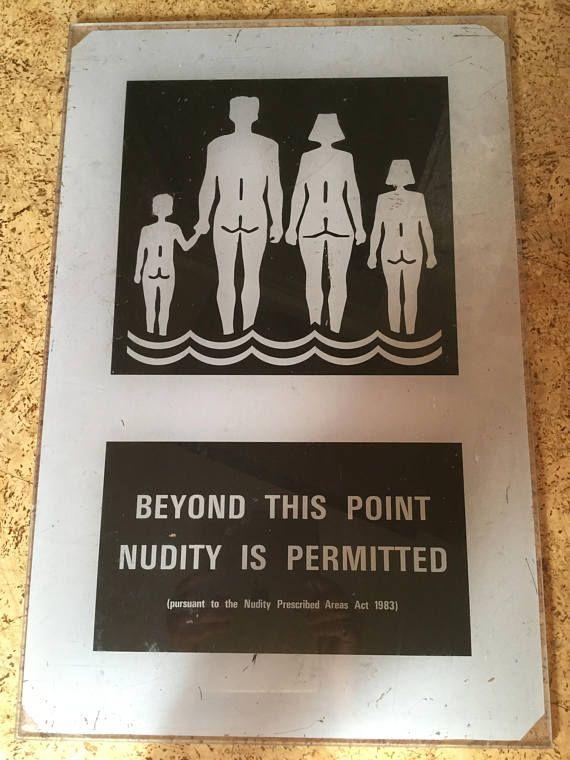 Family nudism vintage nudist