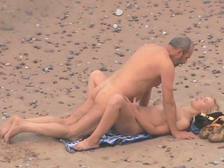 Nude sexual couple voyeur