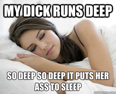 Ass deep her in