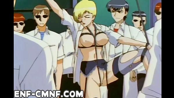 Anime girl nude in public embarrassing comic