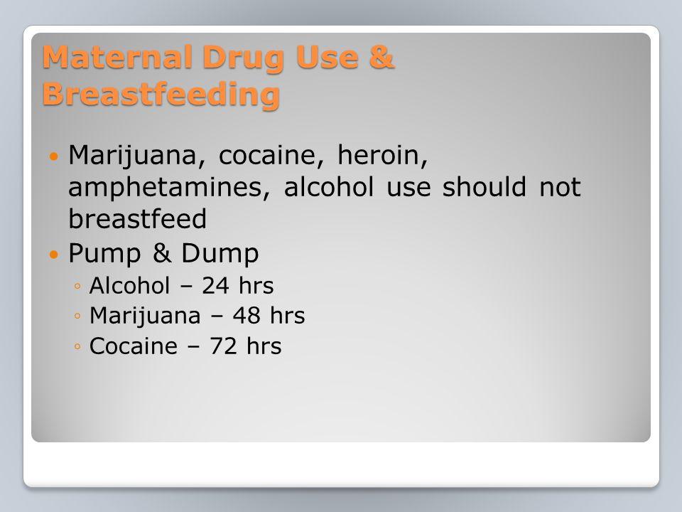 Cocaine and breast feeding