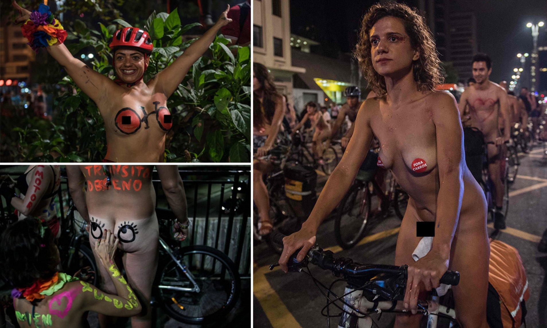Brazilian junior boys and girls nudist
