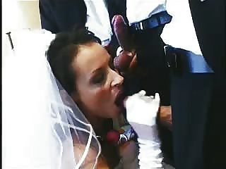 Bride sucking dick before wedding
