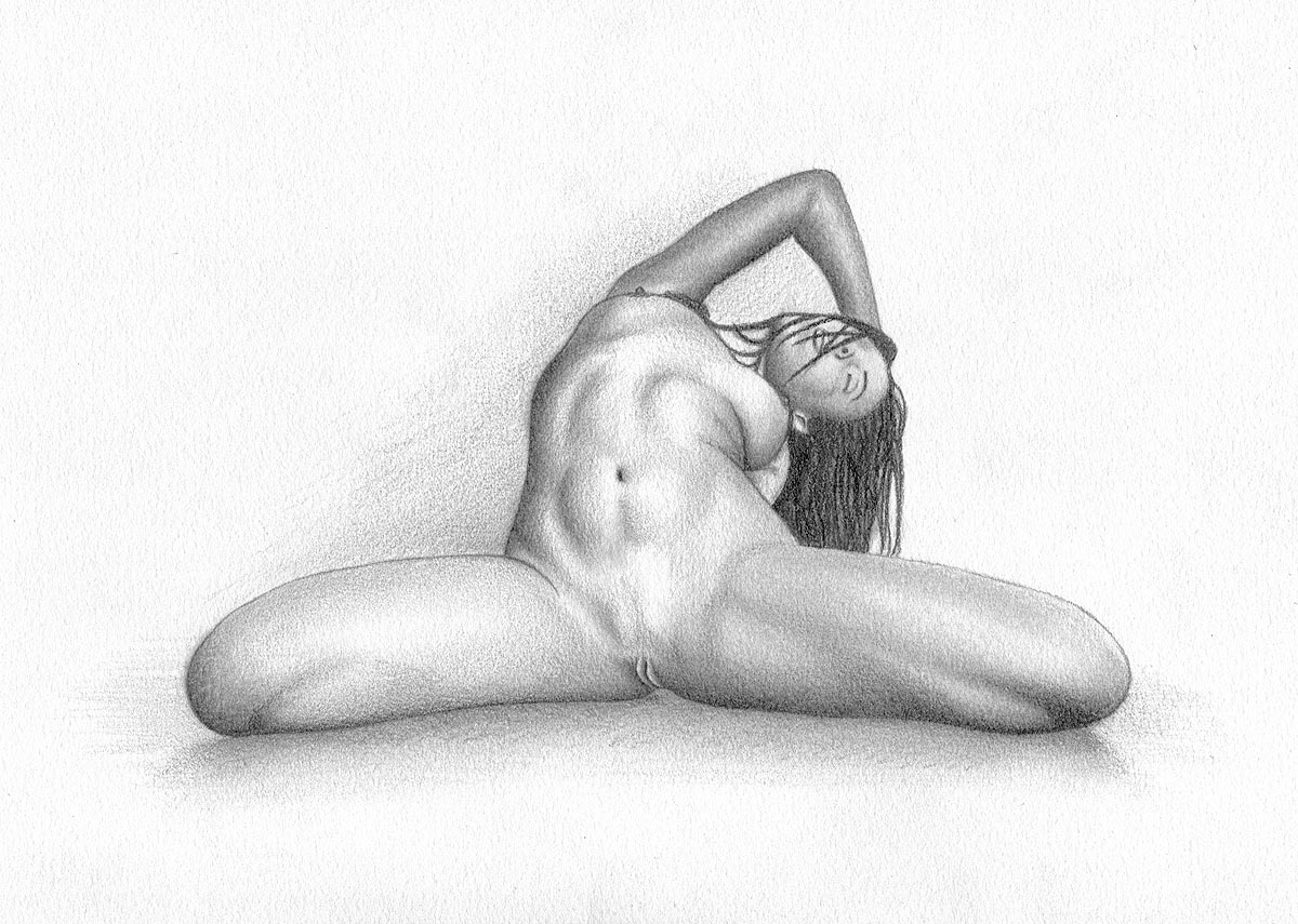 Hardcore anal sex pencil drawings