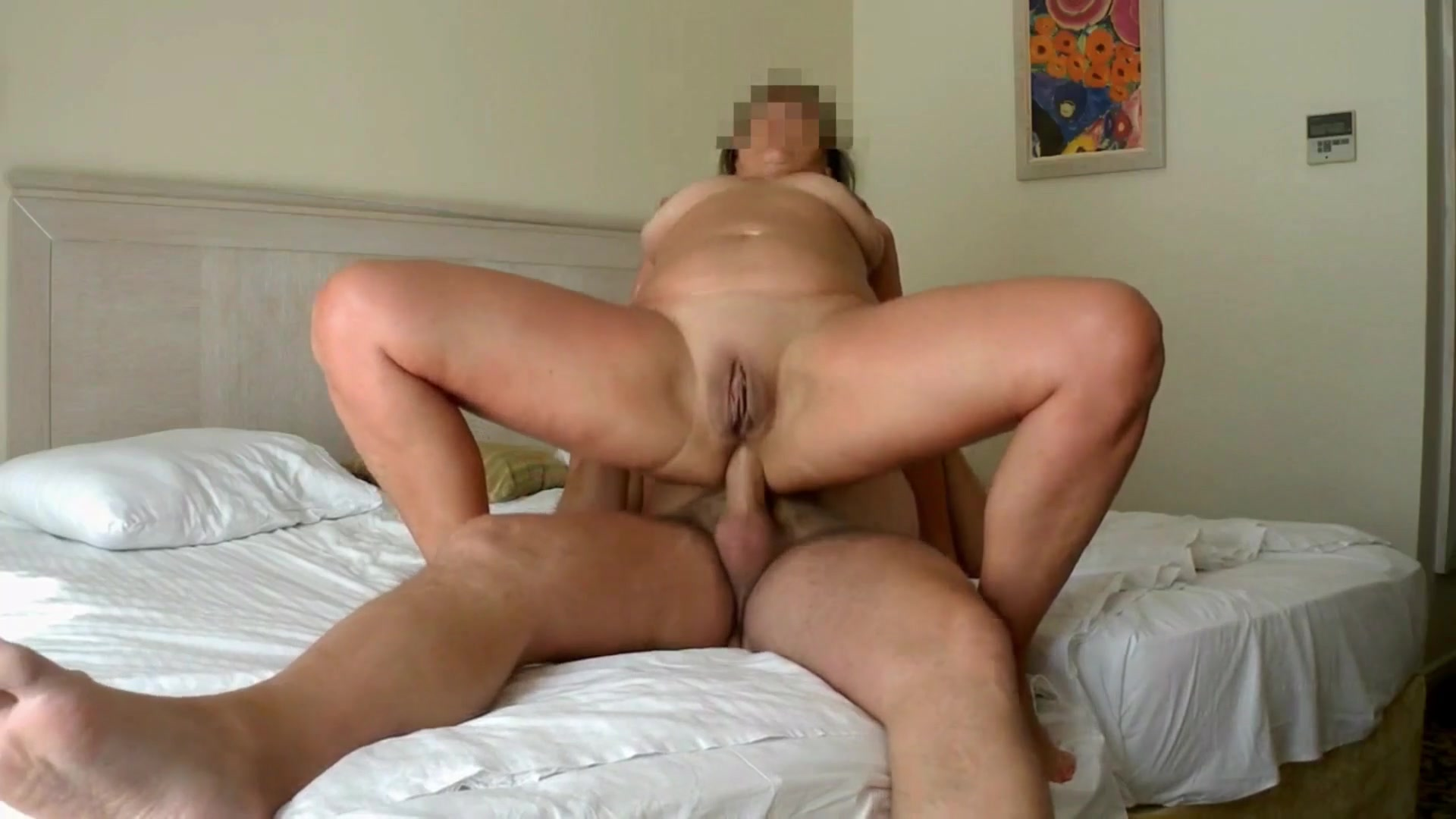Real homemade amateur anal wife