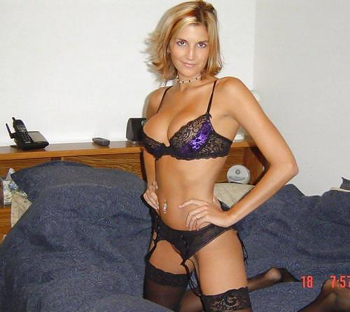 Sexy lingerie wives amateur