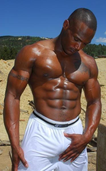 Black hunks with big bulges