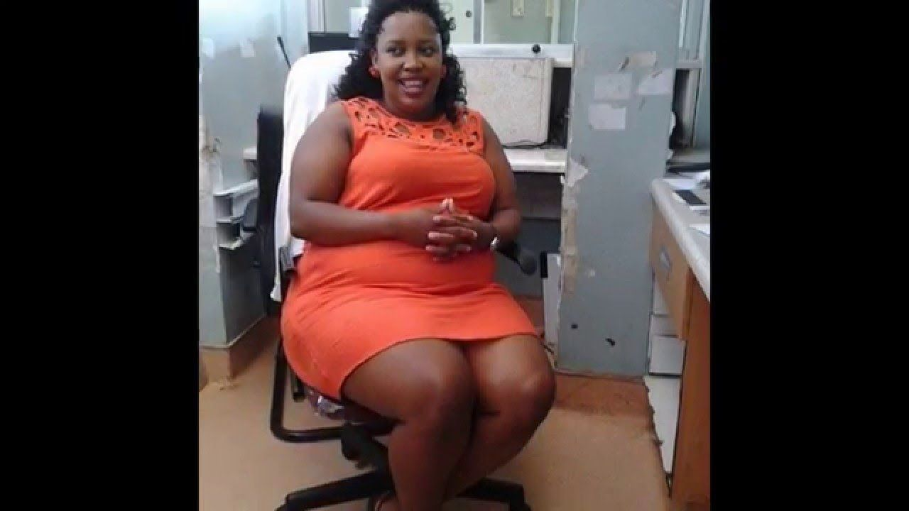 Thighs african nude big women