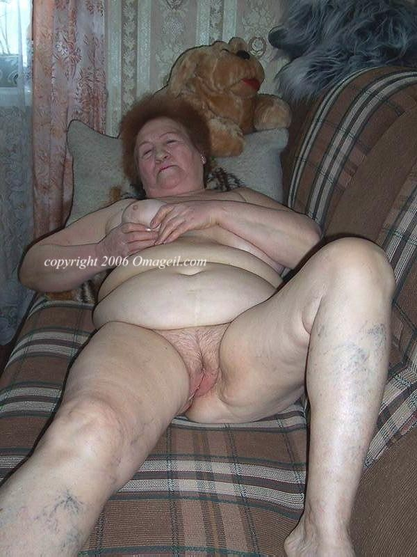 Fat hairy old grannies porn