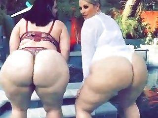 Wet butt big xxx bbw black