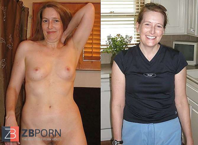 Women and mature unclothed clothed