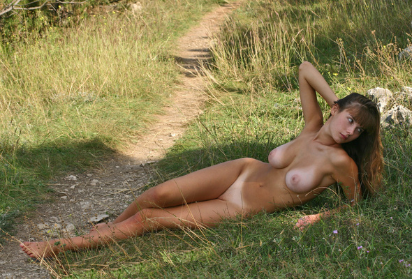 Nude girls with tan lines puffy nipples