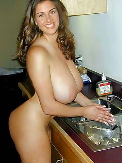Nude photos of horny housewives
