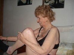 Very old amateur grannies
