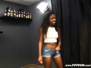 Amateur big tit black girls