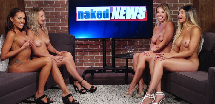 Naked news anchor photo collection