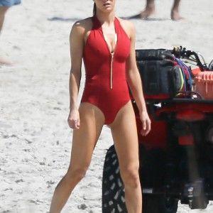 Sexy ass high heels beach