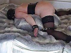 Homemade mature wife bondage