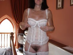 Mature amateur wife panties