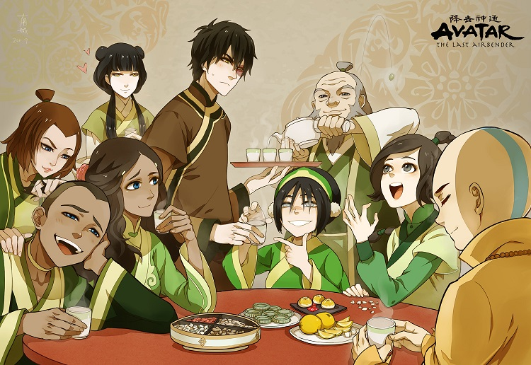 Avatar the last airbender fan characters