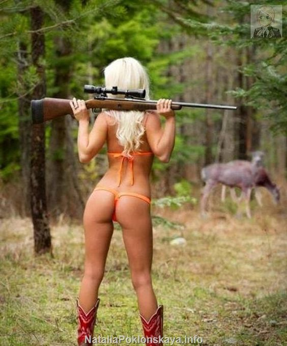 Nude hunting girls while