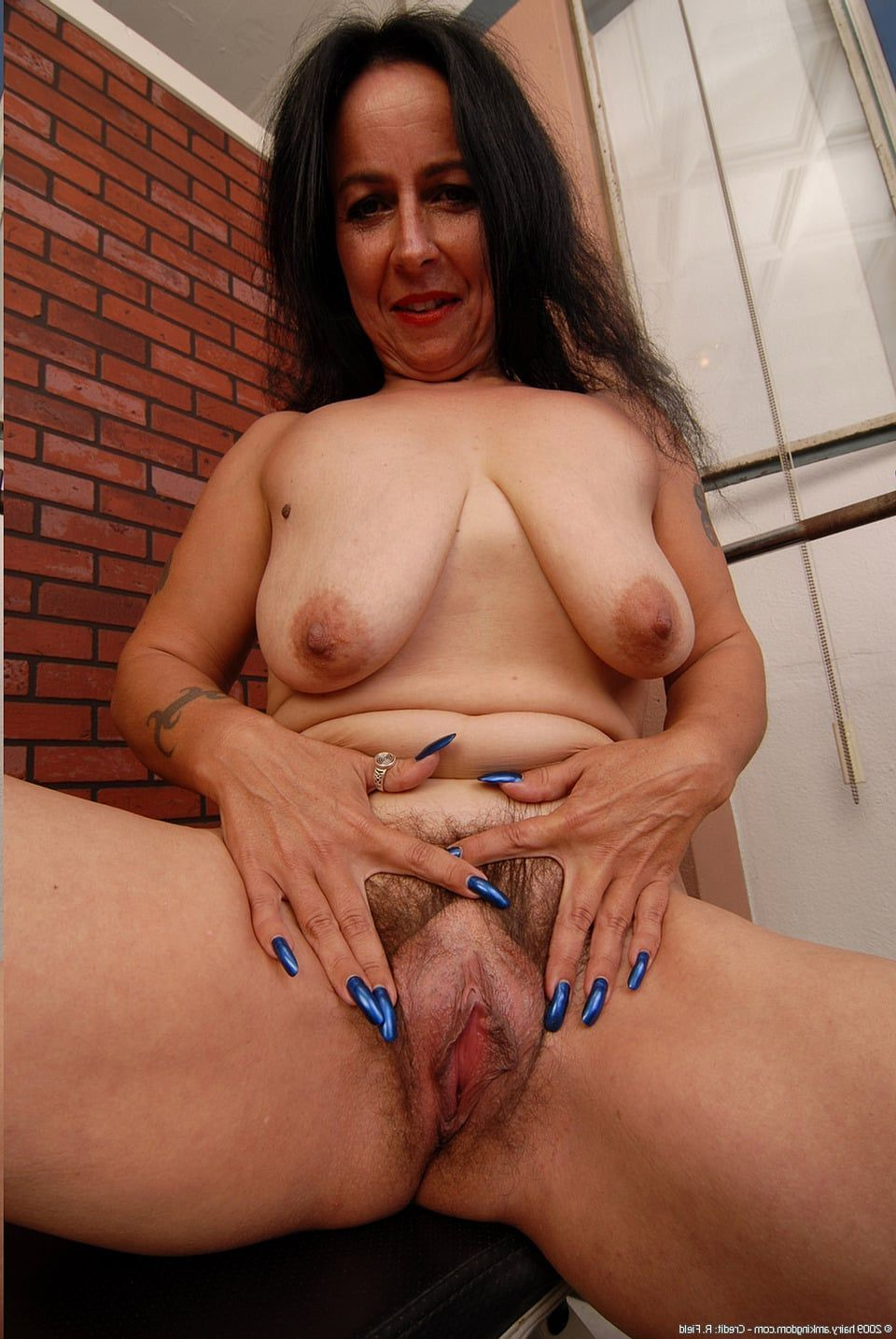 Bbw open hairy vagina xxx