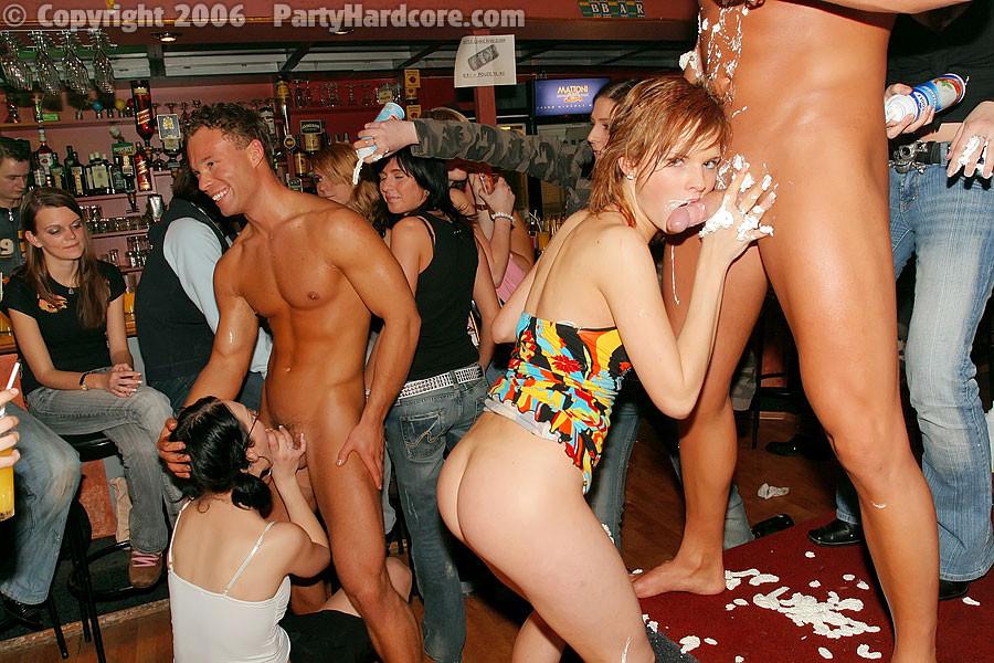 Drunk bar sex stripper